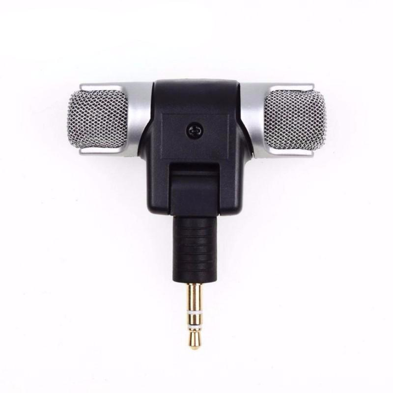 Mini Microphone Stereo Mic For Recording on Mobile Phone - audiosuperstore.net