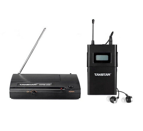 UHF Wireless In-Ear Stereo Monitor System