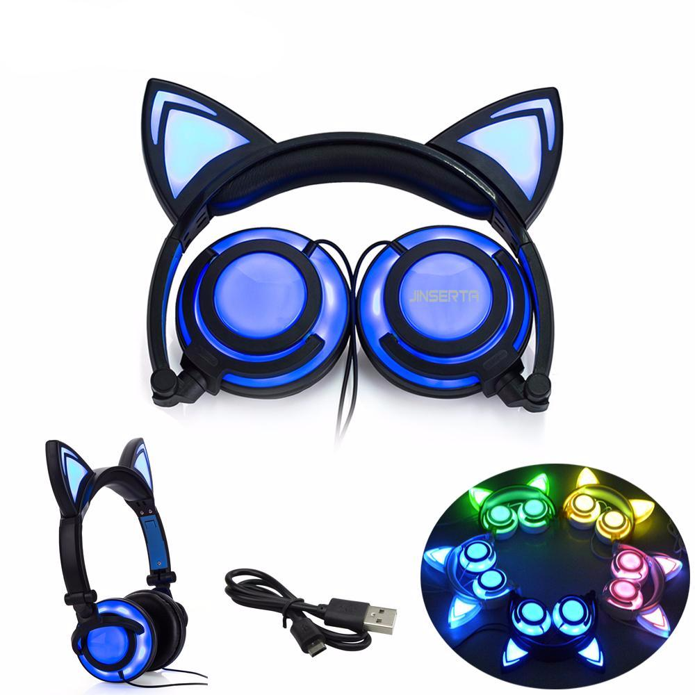 Cat Ear Glowing headphones