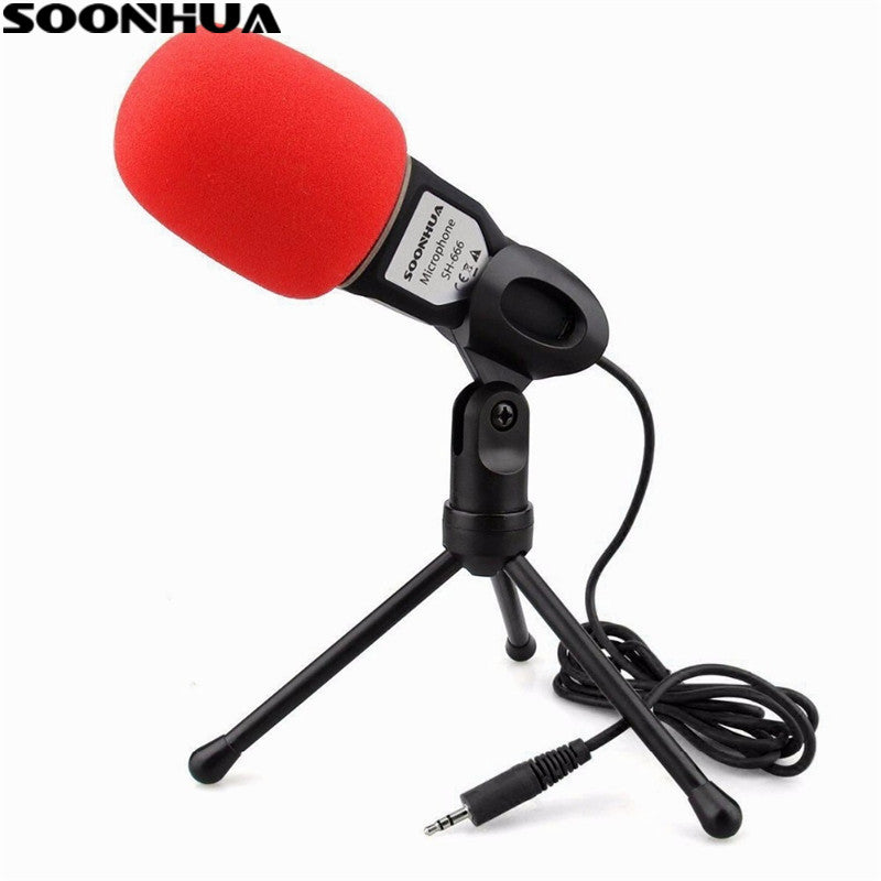 Professional Podcast Studio Microphone with stand For PC