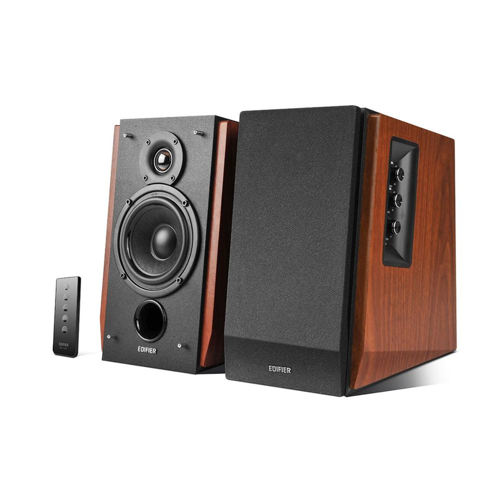 Bluetooth Active Near-field Studio Monitors with Wooden Enclosure
