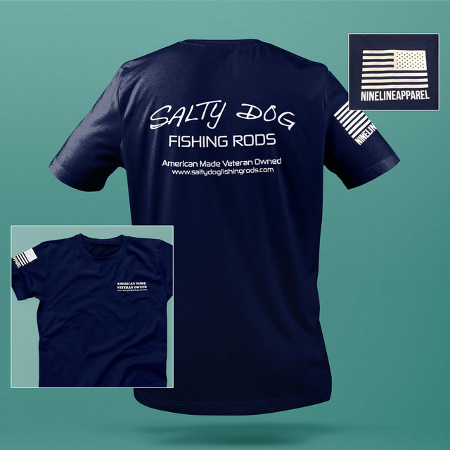 Salty Dog Fishing Rods T-Shirt