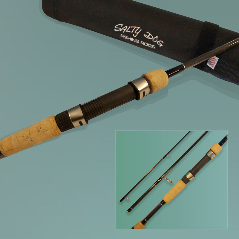 Salty Dog Spinning Rod