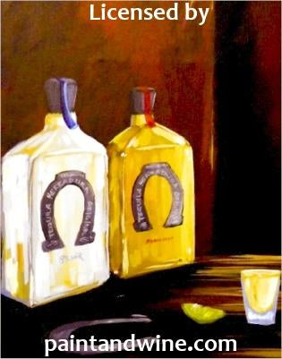 "Sat, May 5, 2018, 7-10pm ""Tequila!"" Public Tulsa OK Paint, Wine, & Canvas Class"