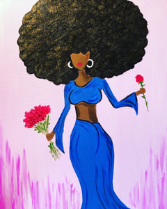 "Sat Jun 22, 2019, 6-9pm ""Diva"" Public Tulsa OK Paint, Wine, & Canvas Class"
