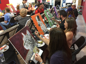 "Sun, Jan 19, 2020 2-5pm ""Pet Painting with Hurricane Charlie's Great Dane Rescue"" Public Fundraising Paint Event"