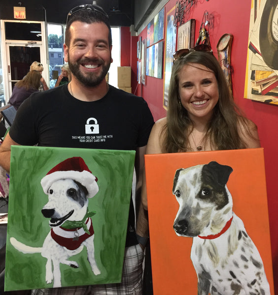 "Sun, Jul 14, 2019, 2-5pm ""Pet Painting Sapulpa Furry Friends"" Public Fundraising Paint Event"