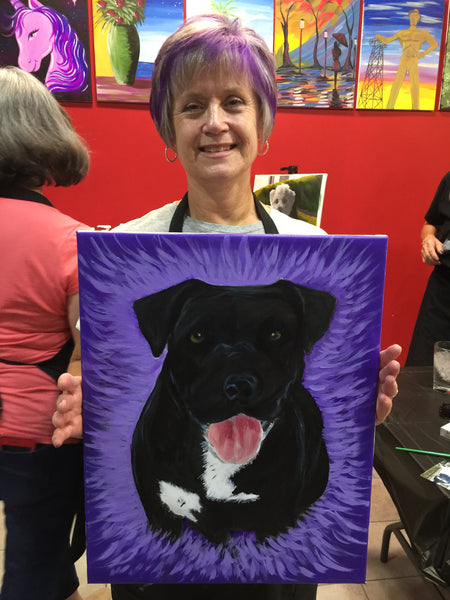 "Sun, Mar 10, 2019, 2-5pm ""Pet Painting with Lakes Area Pet Society"" Public Fundraising Paint Event"