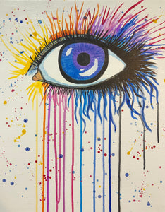 "Fri, Mar 15, 2019, 7-10pm ""Seeing in Color"" Public Tulsa OK Paint, Wine, & Canvas Class"