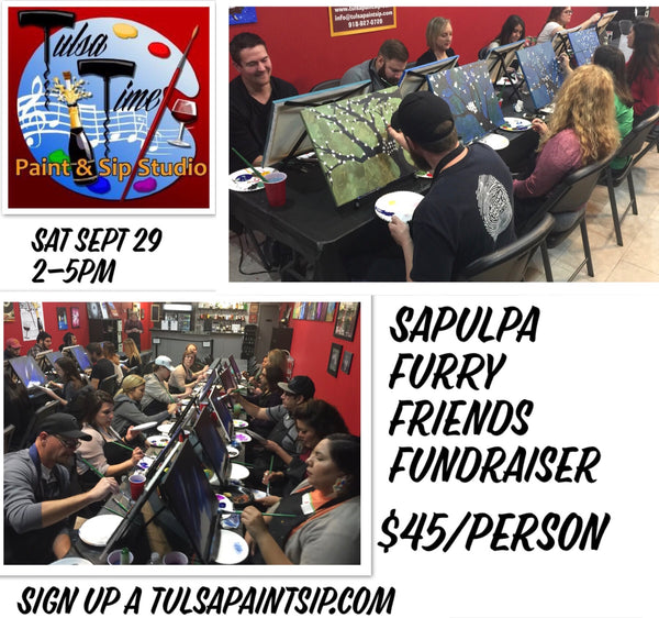Sat, Sept 29, 2018 2-5pm Sapulpa Furry Friends Public Fundraiser