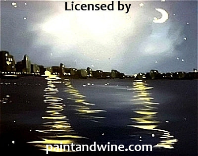 "Sat, Nov 4, 2017, 7-9pm ""Night Cityscape"" GRAND OPENING Public Tulsa OK Paint, Wine, & Canvas Class"