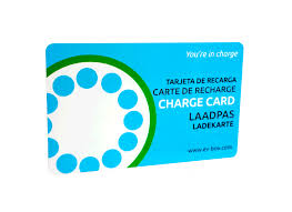 EVBOX RFID Charge Card
