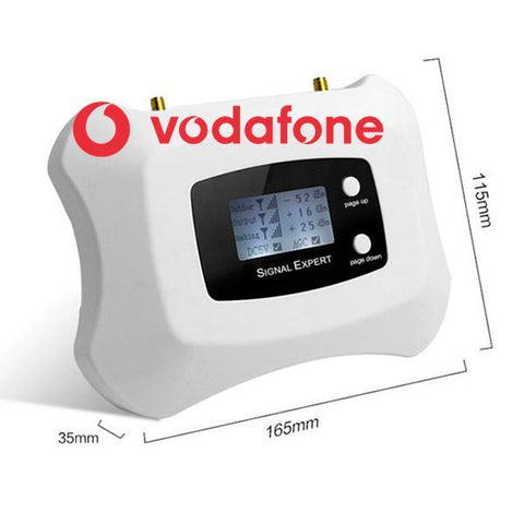 Vodafone Single Band Mobile Signal Booster at 900Mhz Voice and 3G Data