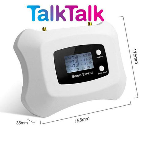TalkTalk Single Band Mobile Signal Booster at 900Mhz Voice and 3G Data