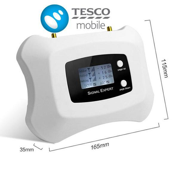 Tesco Single Band Mobile Signal Booster at 900Mhz Voice and 3G Data