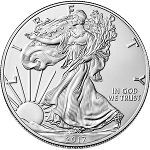 2017 1 oz American Silver Eagle - 500 Coin Monster Box