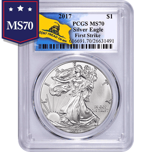 2017 Don't Tread On Me 1 oz American Silver Eagle NGC MS70