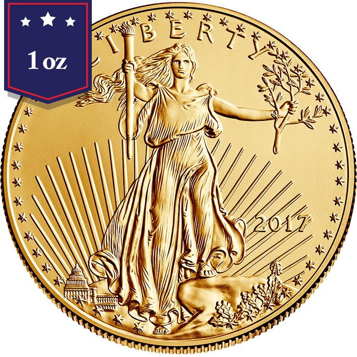 2017 1 oz American Gold Eagle