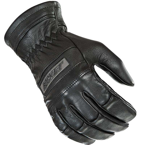 Joe Rocket Men's Classic Black Leather Gel Palm Motorcycle Riding Glove Large