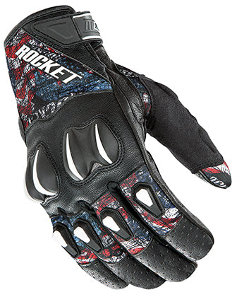 Joe Rocket Cyntek Empire Armored Leather & Textile Motorcycle Riding Glove Large