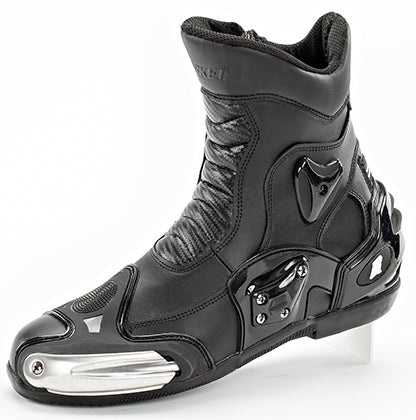 Joe Rocket Black Superstreet Leather Street Sport Motorcycle Riding Boot Size 11