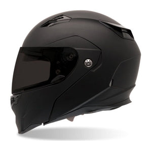 Bell Revolver EVO Modular Full Face Motorcycle Riding Helmet Matte Black Large