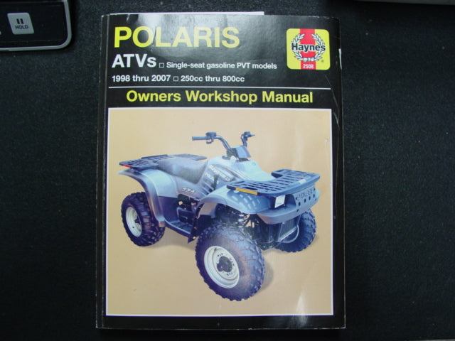Haynes 1998-2007 Polaris PVT Model ATV Repair Service Manual - Customer Return
