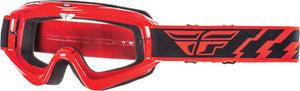 Fly Racing Youth Focus Goggle Red