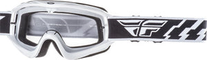 Fly Racing Adult Focus Goggle White