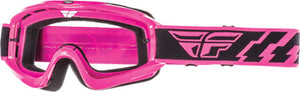 Fly Racing Adult Focus Goggle Pink