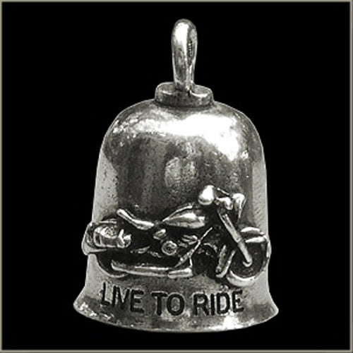 Live To Ride Ride To Live Gremlin Bell