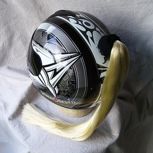 Ladies & Girl's Helmet Ponytail - Blonde