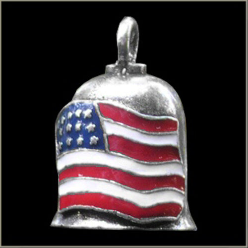American USA Flag Color Gremlin Bell