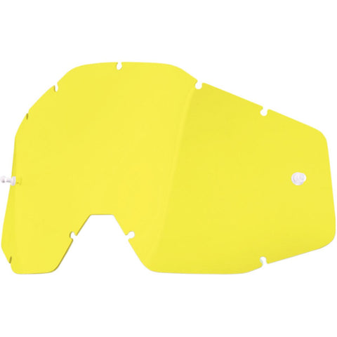 100% Goggle Lens Yellow