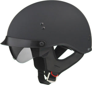 Gmax GM55 Full Dress Matte Black Cruiser Street Motorcycle Riding Helmet X-Small