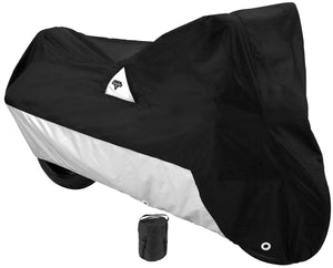 Nelson Rigg Defender 2000 Street Motorcycle Protective Cover Black Silver Large