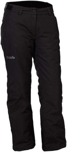 Castle Ladies Bliss Insulated Waterproof Snowmobile Riding Snow Pant Black Large