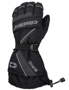 Castle X Epic Waterproof Insulated Snowmobile Winter Snow Glove Black XX-Large