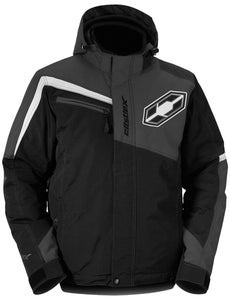 Castle X Men's Phase Waterproof Insulated Snowmobile Snow Jacket  Black 3X-Large