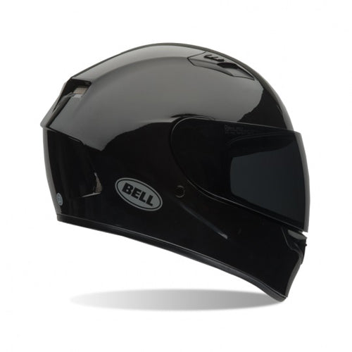 Bell Qualifier Solid Gloss Black Street Sport Full Face Motorcycle Helmet Medium