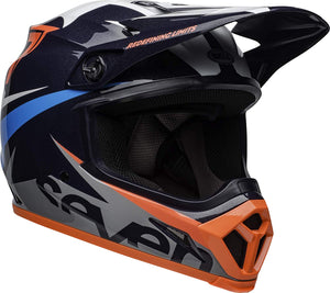 Bell MX-9 MIPS Seven Ignite Graphic MX Motocross Offroad Riding Helmet Large