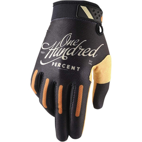 100% Ridefit Classic Motocross Offroad Motorcycle Riding Glove Adult Small
