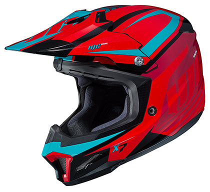 HJC CL-X7 Bator Snell MX Motocross Offroad Riding Race Helmet Red Adult X-Large