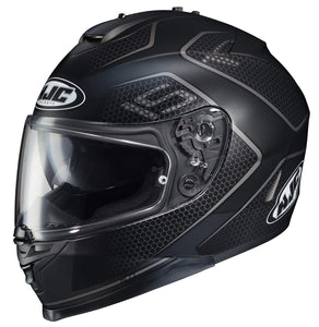 HJC IS-17 Lank Street Sport Motorcycle Riding Touring Helmet Flat Black X-Large
