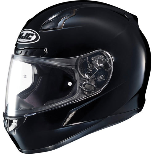 HJC CL-17 Gloss Black Snell Street Full Face Motorcycle Riding Helmet 2X-Large