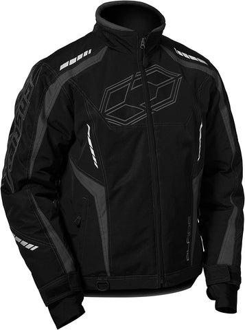 Castle Men's Blade Waterproof Insulated Snowmobile Winter Jacket Black 4X-Large