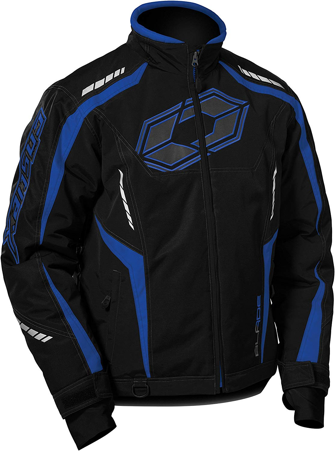 Castle Blade Snowmobile Cold Weather Winter Snow Jacket Blue Black Men's Medium