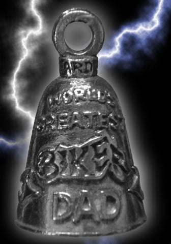 World's Greatest Biker Dad Father's Guardian Bell