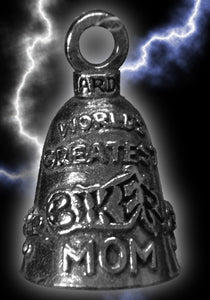 World's Greatest Biker Mom Mother's Guardian Bell