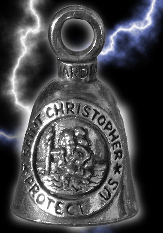 Saint Christopher Medal Guardian Bell